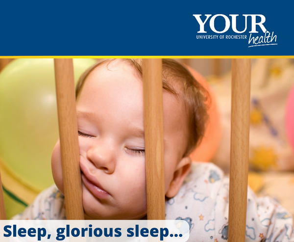 Image of baby asleep in crib